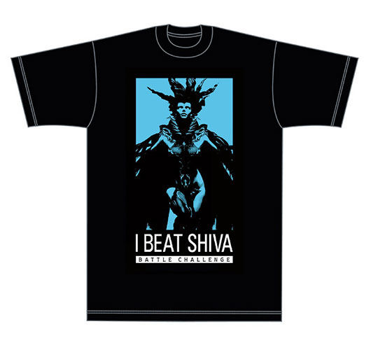 Shiva t-shirt, the reward for beating the boss, Shiva at PAX East