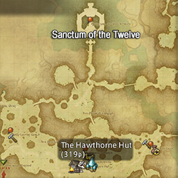 Sanctum of the Twelve map